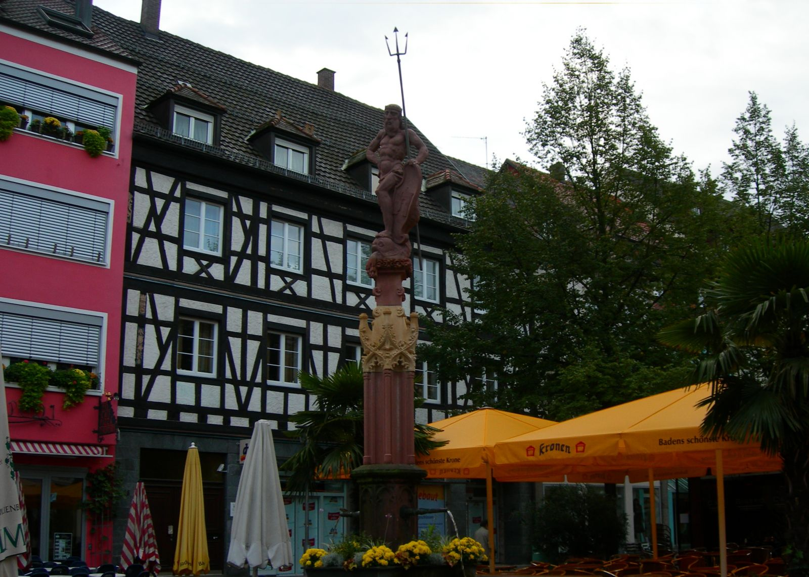 Статуя Нептуна(Посейдона)